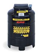 Contenitore in PVC per stoccaggio olio esausto
